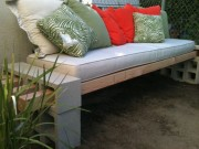 DIY concrete block bench3