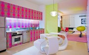 New York apartment with bright colors by Karim Rashid