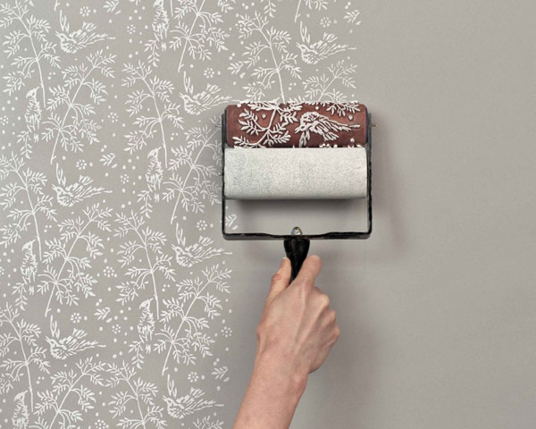 Paint Rollers for Create Wallpaper Patterns
