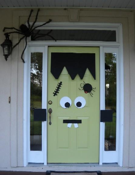 images via printerest - Cheap Halloween Decorations Outdoor