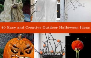 40 easy and creative outdoor halloween ideas