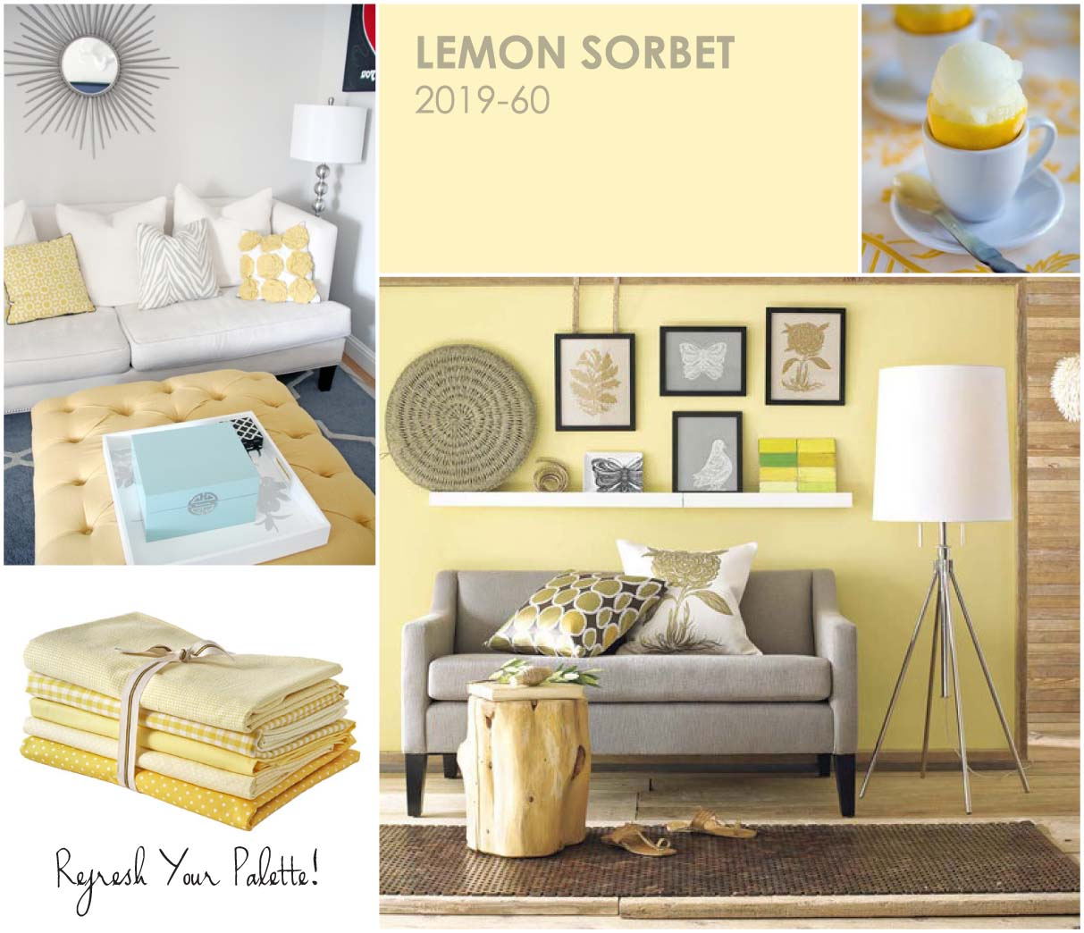 lemon sorbet color of the Year for 2013 | My desired home