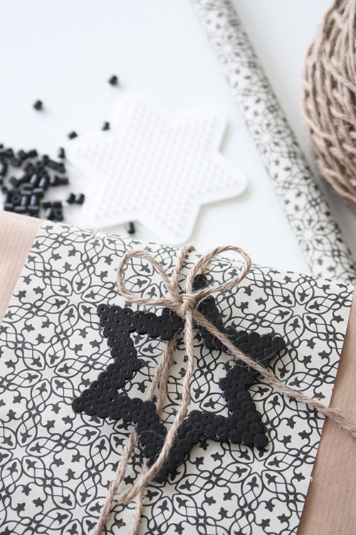 Amazing Black & White Christmas décor ideas4