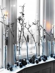 Amazing Black & White Christmas décor ideas7