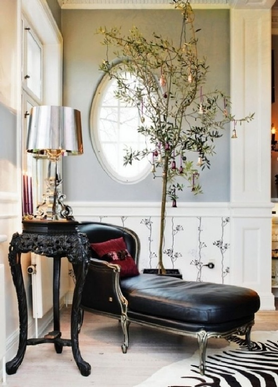 Amazing Black & White Christmas décor ideas9