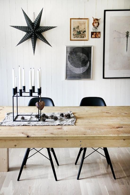 Amazing Black & White Christmas décor ideas