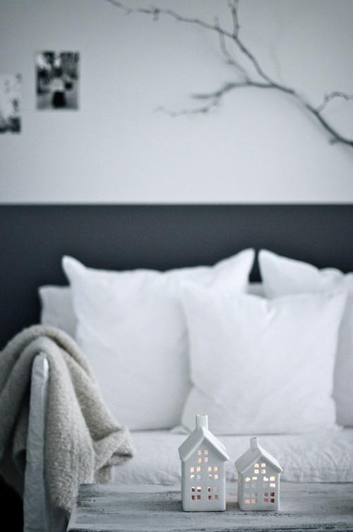 Amazing Black & White Christmas décor ideas3