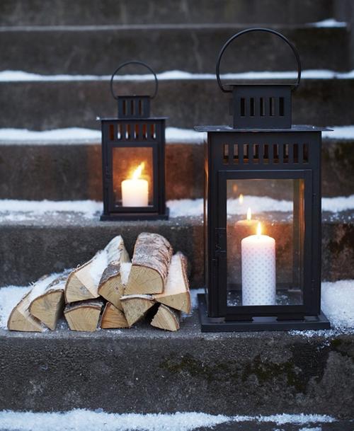 Amazing Black & White Christmas décor ideas6
