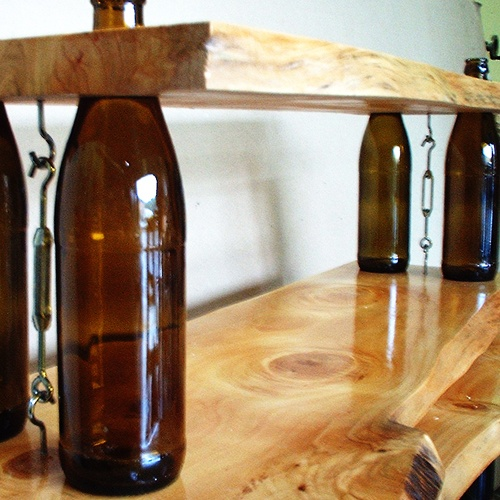 most easy way to cut glass bottles and reuse it for your