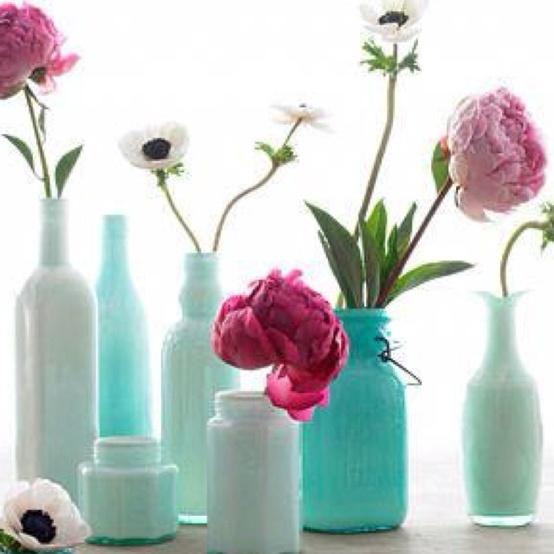 Spray Paint Art Bedroom Bedroom Furniture Sets 2016 Halloween Bedroom Decorating Ideas Bedroom Design Concept: Bottle Reuse Decorating Ideas4