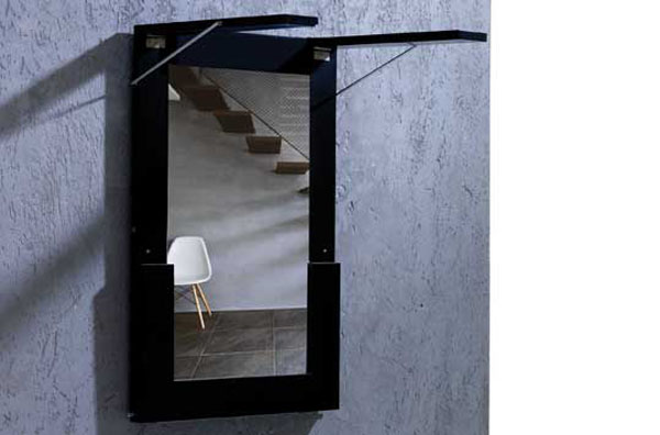 Cool space saving tables mirror-table