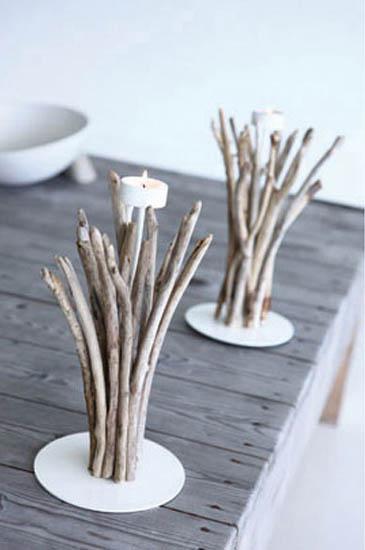 Diy driftwood candles2