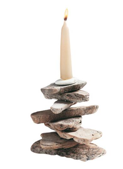 Diy driftwood candles3