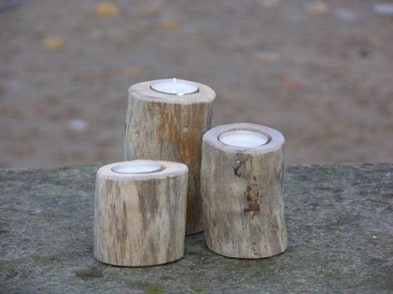Diy driftwood candles4
