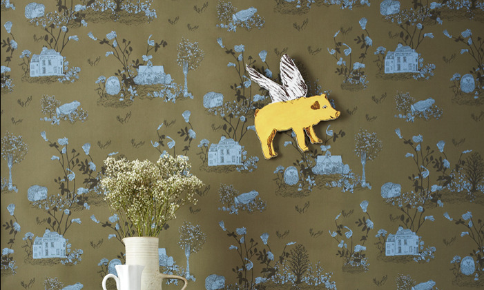 modern wall decorating with magnetic wallpapers my