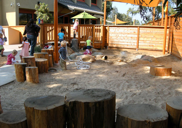 Creative playgrounds made from natural materials1