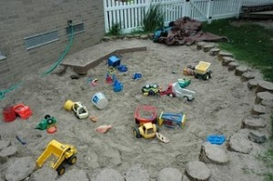 Creative playgrounds made from natural materials8