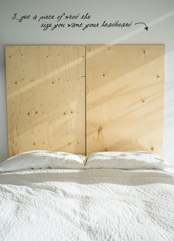 DIY headboard made of old books1