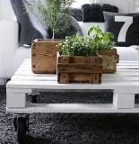 Diy rustic palet planter6
