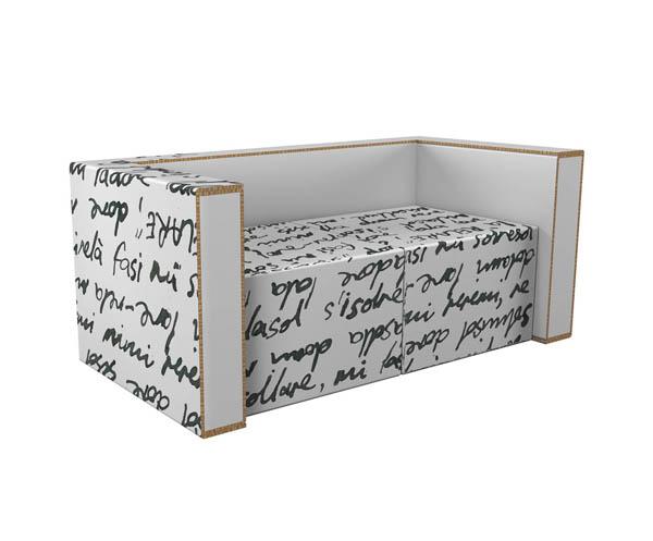 Modern furniture made from cardboard2