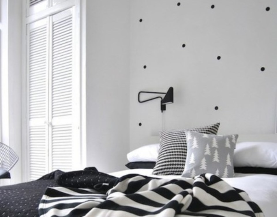 Polka dots decor trend ideas