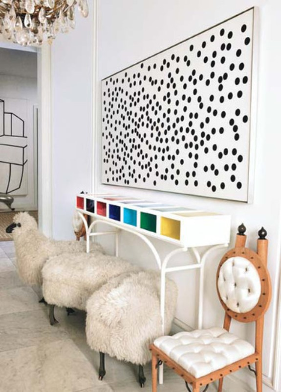 Polka dots decor trend ideas1