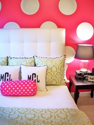 Polka dots decor trend ideas11