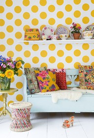 Polka dots decor trend ideas12