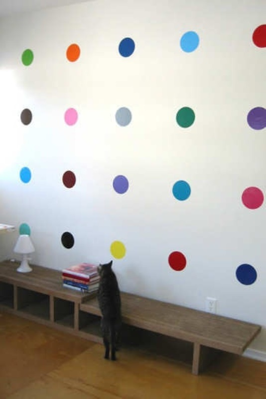 Polka dots decor trend ideas3