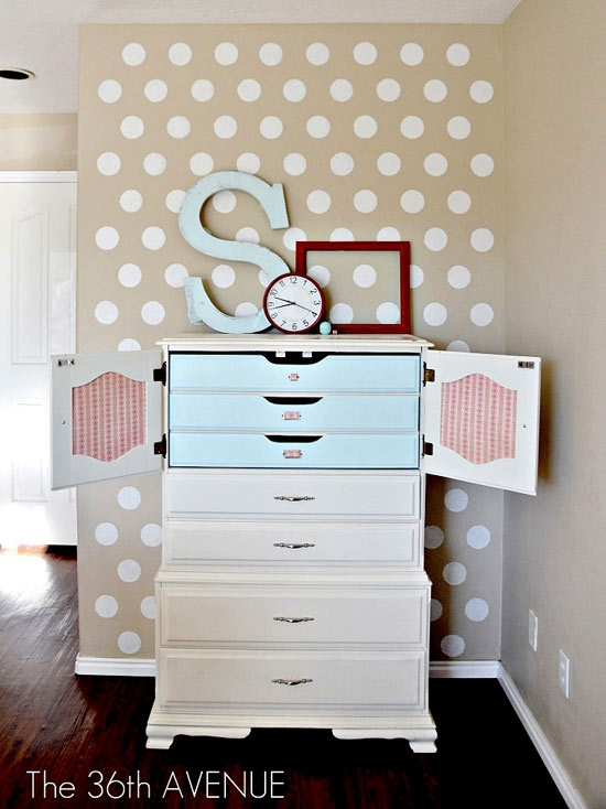 Polka dots decor trend ideas6
