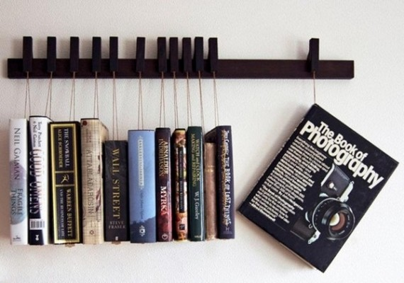 book hanging rack by Agustav
