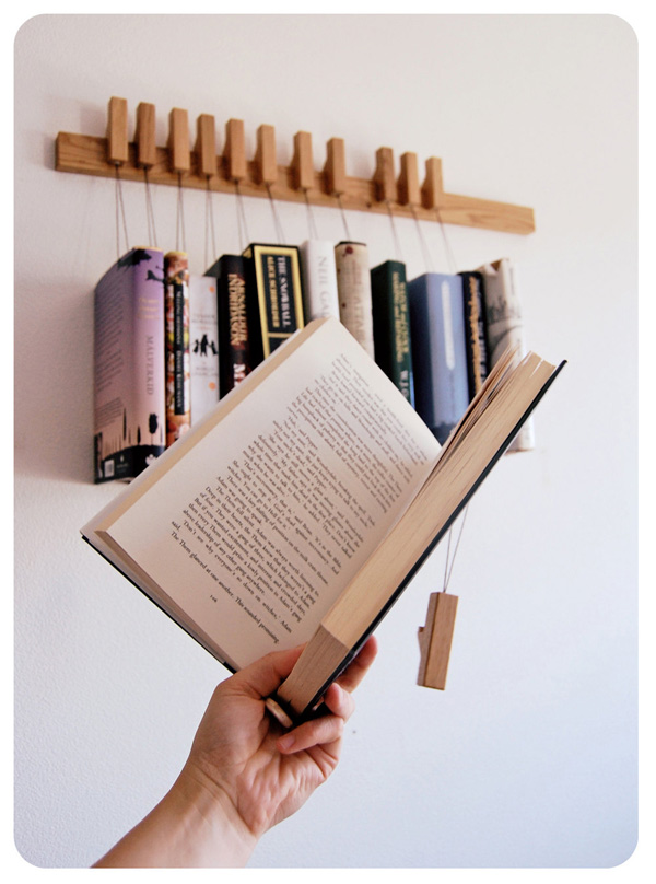 book hanging rack by Agustav2