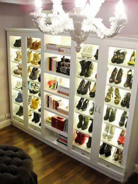 Creative storage ideas for shoes