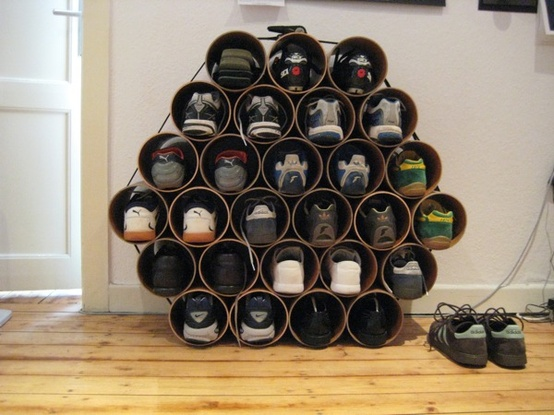 Creative storage ideas for shoes12