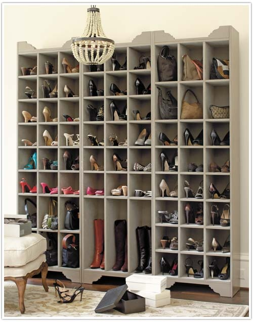 Creative storage ideas for shoes5 my desired home for Unusual storage ideas