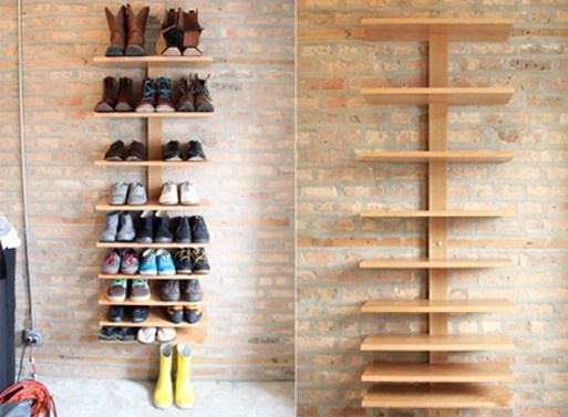 Creative storage ideas for shoes7