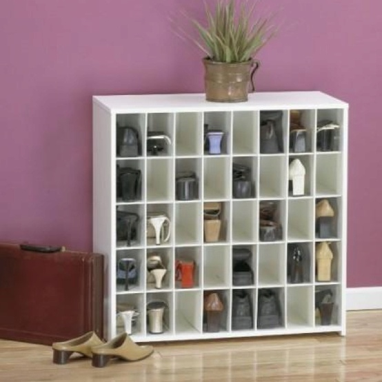 Creative ideas for put on your shoes in order my desired for Creative shelf ideas