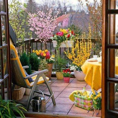 green balcony ideas9