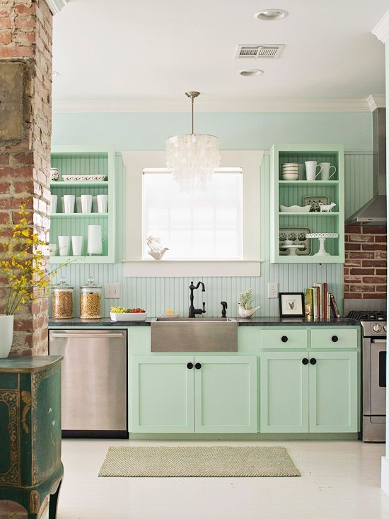 mint kitchen ideas