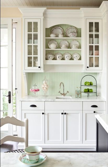 mint kitchen ideas12