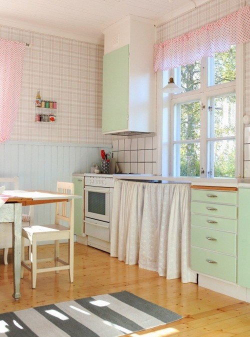 mint kitchen ideas13