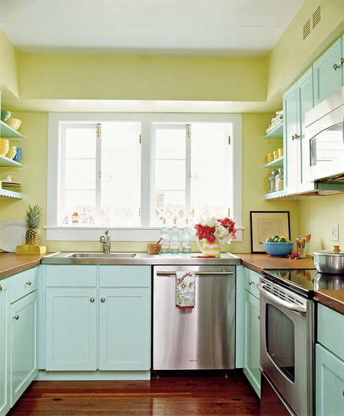 mint kitchen ideas6