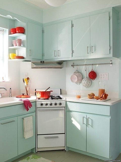 mint kitchen ideas8