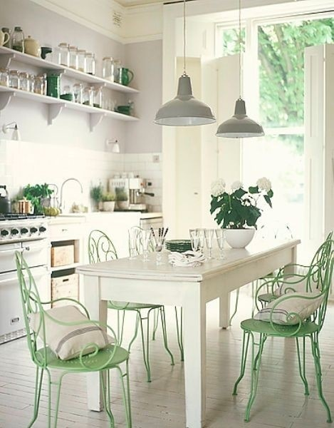 mint kitchen ideas9