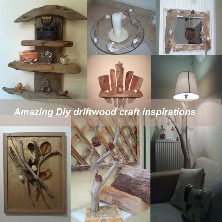 Amazing Diy driftwood craft inspirations