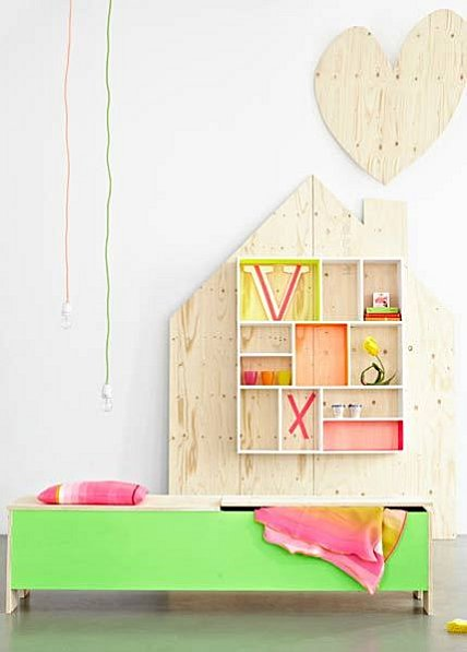 Fluorescent colors for nursery decoration my desired home - Colors for modern living room chromatic vitality ...