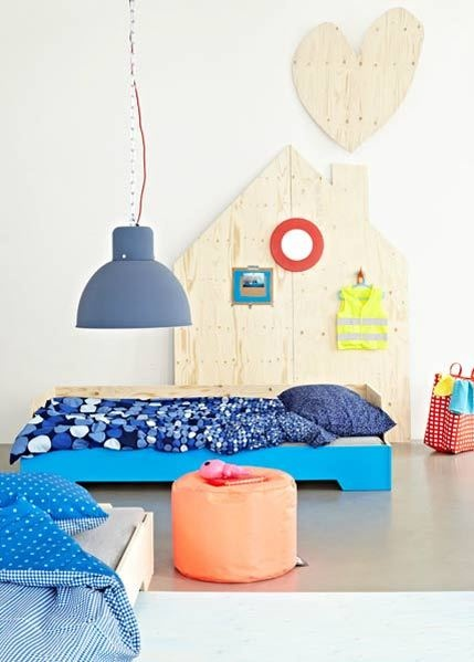 Fluorescent colors for nursery decoration2