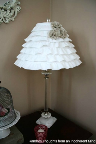 Girly table lamps ideas my desired home for Ideas for decorating lamp shades