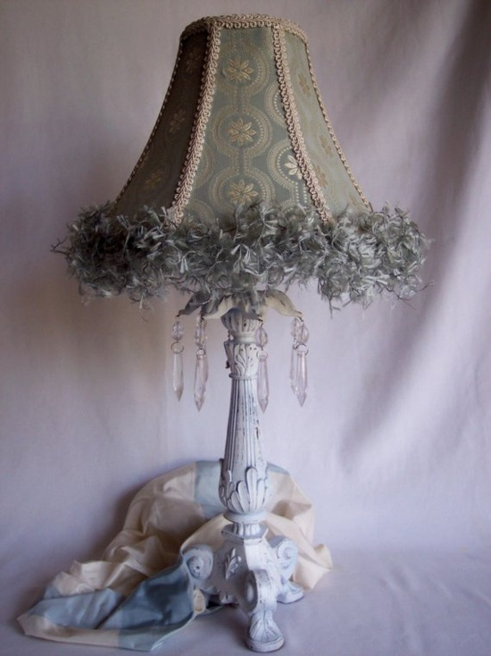 Girly table lamps ideas11