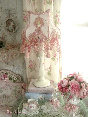 Girly table lamps ideas12
